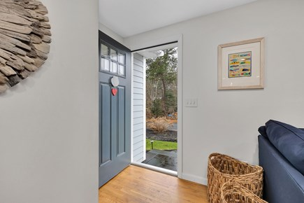 Dennis Cape Cod vacation rental - Front door entrance.