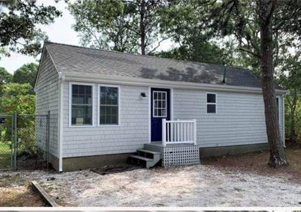 West Yarmouth Cape Cod vacation rental - Front of the house with a driveway that accommodates 2 cars