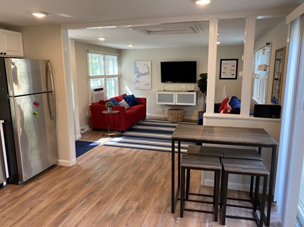 West Yarmouth Cape Cod vacation rental - Table for 4 and also can be used as a kitchen island