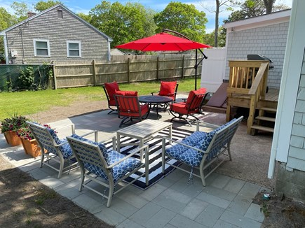 West Yarmouth Cape Cod vacation rental - Outdoor patio with ample seating