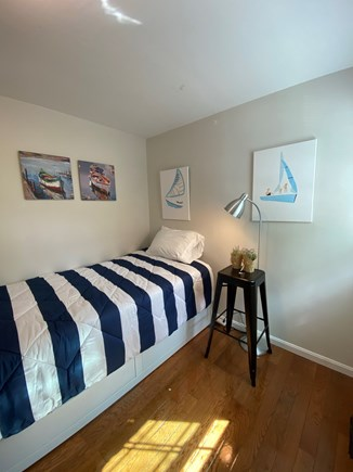 West Yarmouth Cape Cod vacation rental - Second bedroom with a twin size bed that expands to a king size b