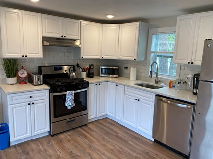 West Yarmouth Cape Cod vacation rental - Fully renovated kitchen with subway tiles and appliances