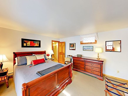 Wellfleet Cape Cod vacation rental - Basement 4th bedroom with queen size bed