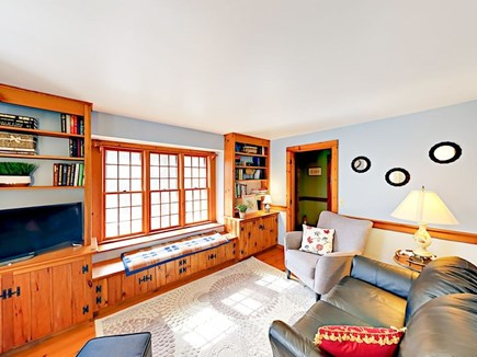 Wellfleet Cape Cod vacation rental - Den for reading or watching TV