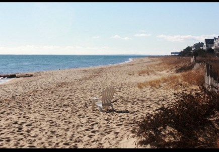 Popponesset, Mashpee Cape Cod vacation rental - Beautiful private beach only a  3 1/2 minute walk from our home.