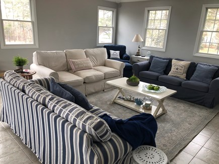 Popponesset, Mashpee Cape Cod vacation rental - 2nd floor spacious living room with 65 in Smart TV
