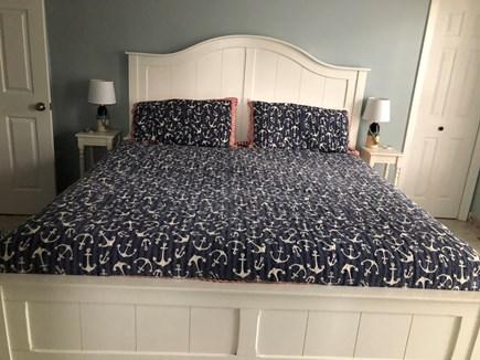 Popponesset, Mashpee Cape Cod vacation rental - First floor: King master bedroom en-suite.