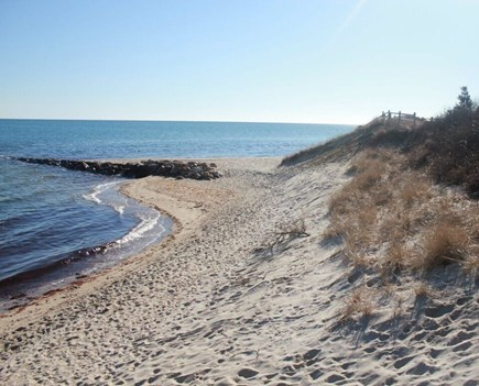 Mashpee Cape Cod vacation rental - Miles of waterfront beach to stroll and enjoy breathtaking views.