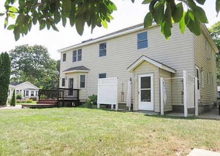Popponesset, Mashpee Cape Cod vacation rental - Spacious private yard has two outdoor showers.