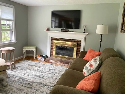 West Yarmouth Cape Cod vacation rental - Comfortable and inviting family room with ample natural light
