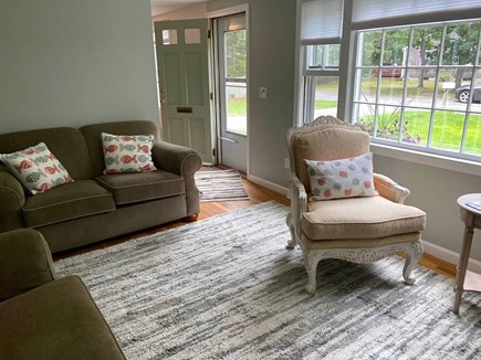West Yarmouth Cape Cod vacation rental - Bright family room overlooking charming front yard