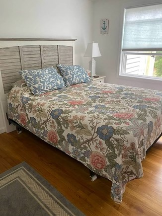 West Yarmouth Cape Cod vacation rental - Master bedroom features queen bed, large closet, dresser & mirror