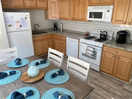 West Yarmouth Cape Cod vacation rental - Spacious updated eat-in kitchen with full amentities