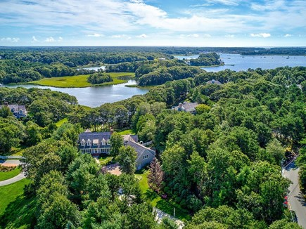 Marstons Mills, Barnstable Cape Cod vacation rental - Aerial view of property