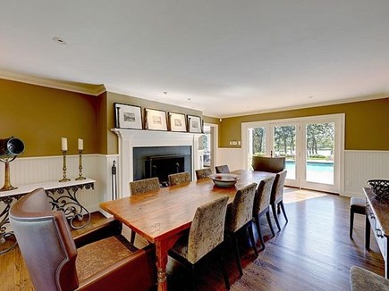 Marstons Mills, Barnstable Cape Cod vacation rental - Dining room table seats 12