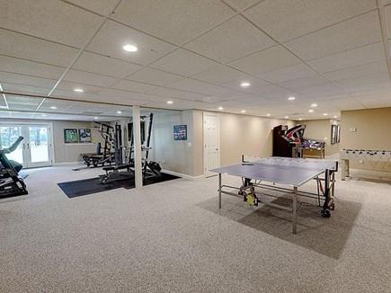 Marstons Mills, Barnstable Cape Cod vacation rental - Rec room in basement