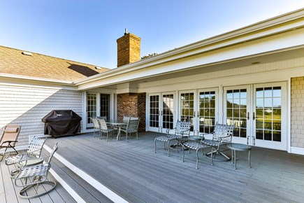 South Chatham Cape Cod vacation rental - The deck where you will want to spend all of your time