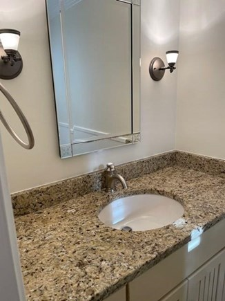 South Chatham Cape Cod vacation rental - Half bath on the first level.