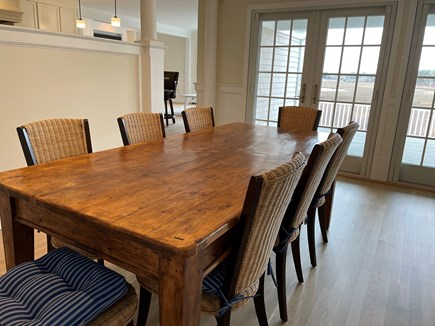 South Chatham Cape Cod vacation rental - Dining with a view
