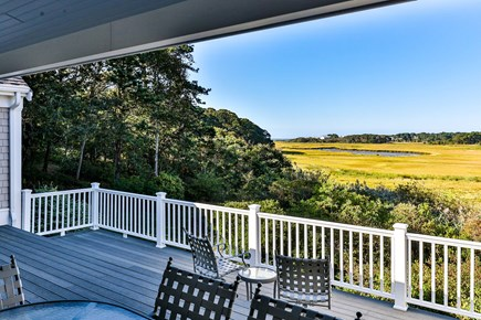 South Chatham Cape Cod vacation rental - Incredible views over Red River Marsh to Nantucket Sound.