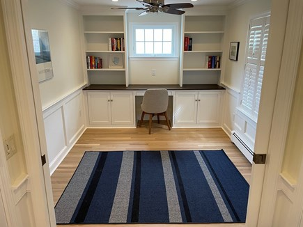 South Chatham Cape Cod vacation rental - A light filled office in case you need to work.