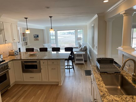 South Chatham Cape Cod vacation rental - Beautiful chef's kitchen with Viking stove