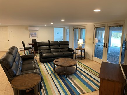 South Chatham Cape Cod vacation rental - Spacious second living area for movies, games, puzzles