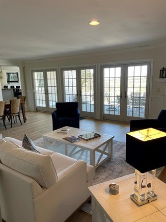 South Chatham Cape Cod vacation rental - Enjoy the stunning view from the living room.