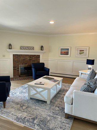 South Chatham Cape Cod vacation rental - Curl up with a book or entertain in the living room.