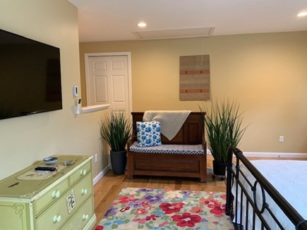 Orleans Cape Cod vacation rental - Master suite with king bed, flat screen TV and private bath.