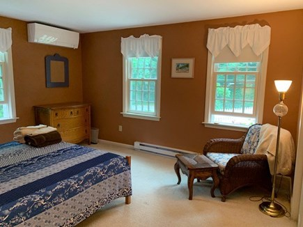 Orleans Cape Cod vacation rental - Bedroom with queen Posturpedic mattress and cozy reading area.