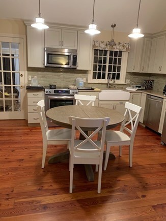 Orleans Cape Cod vacation rental - Kitchen area with high end appliances and farmer's sink.