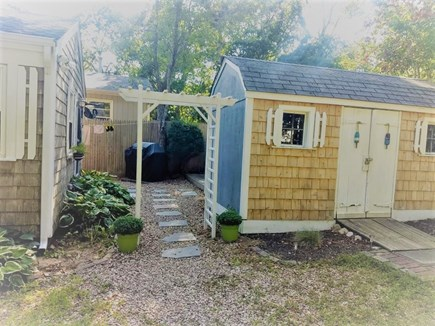 Yarmouth Cape Cod vacation rental - More than enough parking space for 2 cars.