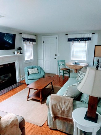 Yarmouth Cape Cod vacation rental - A large flat screen tv and seating for the whole family.