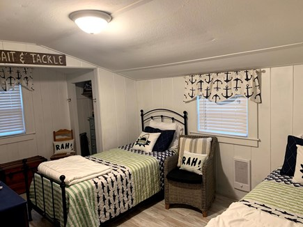 Dennisport Cape Cod vacation rental - Twin Bedroom two dresser and closet