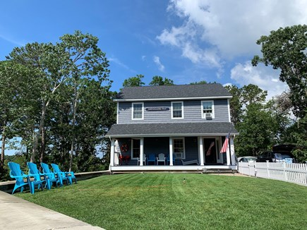 South Yarmouth Cape Cod vacation rental - Front porch