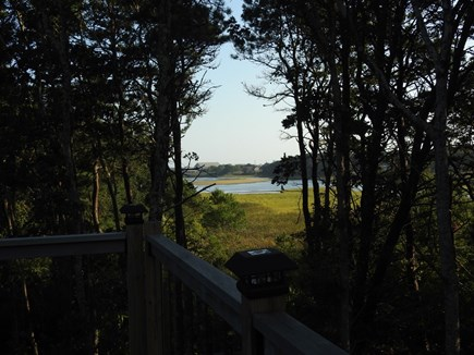 South Yarmouth Cape Cod vacation rental - Back deck views