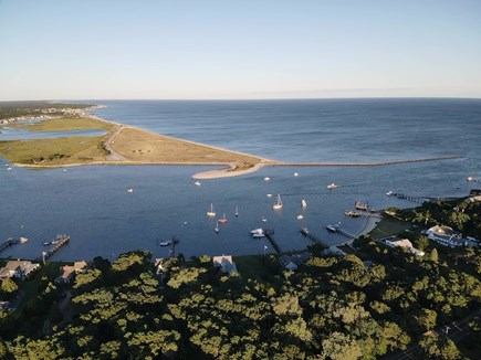 South Yarmouth Cape Cod vacation rental - Drone overhead of Smuggler's Way !