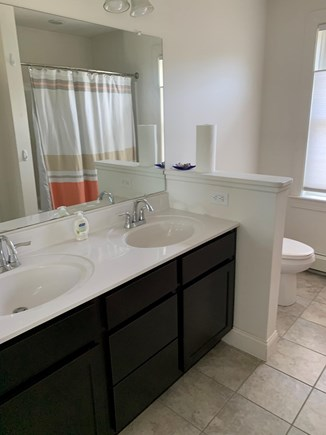 South Yarmouth Cape Cod vacation rental - Master vanity double sink