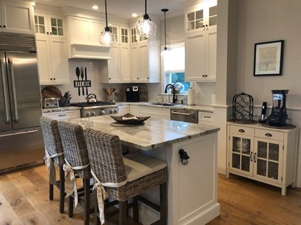 Dennis Cape Cod vacation rental - Open kitchen with counter sitting