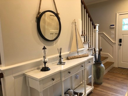 Dennis Cape Cod vacation rental - Front hall