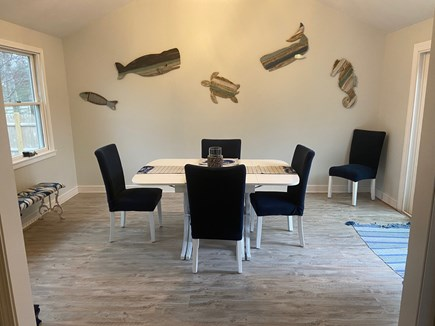 West Yarmouth Cape Cod vacation rental - Dining Room with slider to deck and back yard