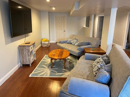 West Yarmouth Cape Cod vacation rental - Finished basement with two queen size futons
