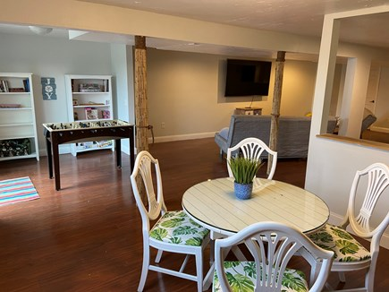 West Yarmouth Cape Cod vacation rental - Finished basement with sitting area, game area