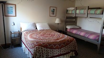 Truro Cape Cod vacation rental - Full/Twin bunks Bedroom- 1st floor