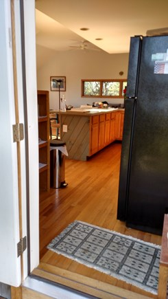 Truro Cape Cod vacation rental - Kitchen from East Deck- 2nd floor
