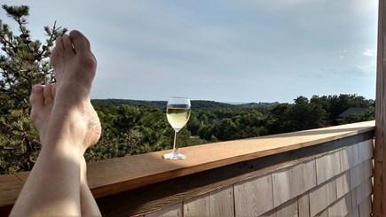 Truro Cape Cod vacation rental - Sun, Views & Serenity with Wine on the Widow's Walk