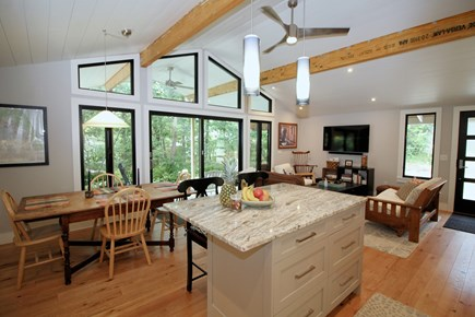 Wellfleet Cape Cod vacation rental - Main living space is open and airy with plenty of windows