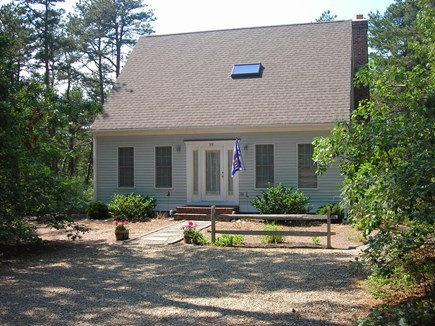 Wellfleet Cape Cod vacation rental - As you approach the home