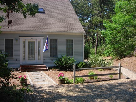 Wellfleet Cape Cod vacation rental - Front view of home